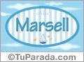 Marsell - Nombre decorativo