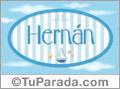 Hernan - Nombre decorativo