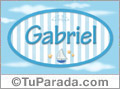 Gabriel - Nombre decorativo