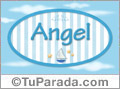 Angel - Nombre decorativo