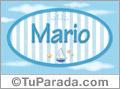 Mario -Nombre decorativo