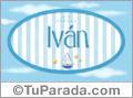 Iván - Nombre decorativo