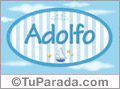 Adolfo - Nombre decorativo