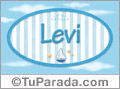 Levi - Nombre decorativo