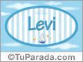 Levi - Nombre decorativo