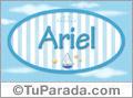 Ariel - Nombre decorativo
