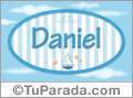 Daniel - Nombre decorativo