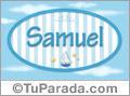 Samuel - Nombre decorativo