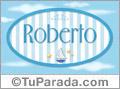 Roberto - Nombre decorativo