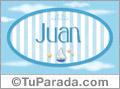 Juan - Nombre decorativo
