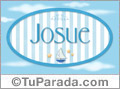 Josue - Nombre decorativo