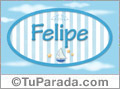 Felipe - Nombre decorativo