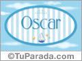 Oscar - Nombre decorativo