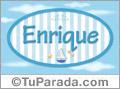 Enrique - Nombre decorativo
