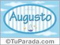 Augusto, nombre de bebé, nombre de niño