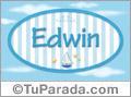 Edwin, nombre de bebé, nombre de niño