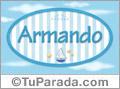 Armando, nombre de bebé, nombre de niño