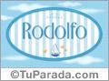 Rodolfo, nombre de bebé, nombre de niño