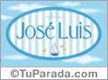 José Luis, nombre de bebé, nombre de niño
