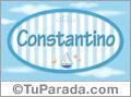 Constantino, nombre de bebé, nombre de niño