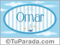 Omar, nombre de bebé, nombre de niño