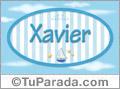 Xavier, nombre de bebé, nombre de niño
