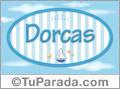 Dorcas, nombre de bebé, nombre de niño