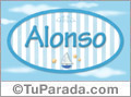 Alonso, nombre de bebé, nombre de niño