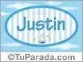 Justin, nombre de bebé, nombre de niño