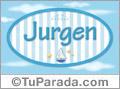 Jurgen, nombre de bebé, nombre de niño