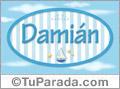 Damián, nombre de bebé, nombre de niño
