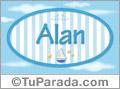 Alan, nombre de bebé, nombre de niño