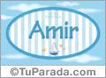 Amir, nombre de bebé, nombre de niño