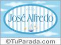 José Alfredo, nombre de bebé, nombre de niño