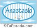 Anastasio, nombre de bebé, nombre de niño