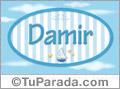 Damir, nombre de bebé, nombre de niño