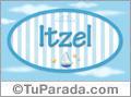 Itzel, nombre de bebé, nombre de niño