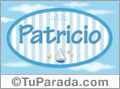 Patricio, nombre de bebé, nombre de niño