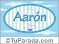 Aarón, nombre de bebé, nombre de niño
