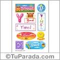 Yimel - Para stickers