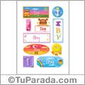 Iby - Para stickers