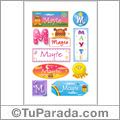 Mayte - Para stickers