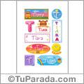 Tiara - Para stickers