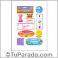 Igone - Para stickers