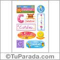 Catalina - Para stickers