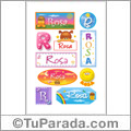 Rosa - Para stickers