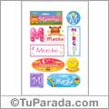 Merche - Para stickers