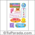 Florencia - Para stickers