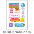 Esyuanith - Para stickers