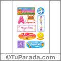 Agustina - Para stickers
